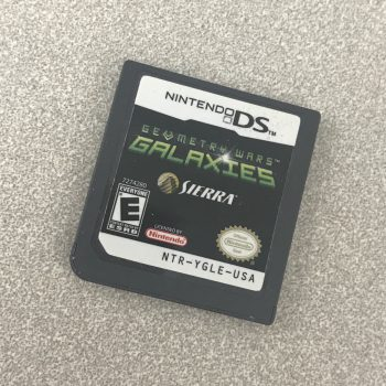 Geometry Wars Galaxies cartridge