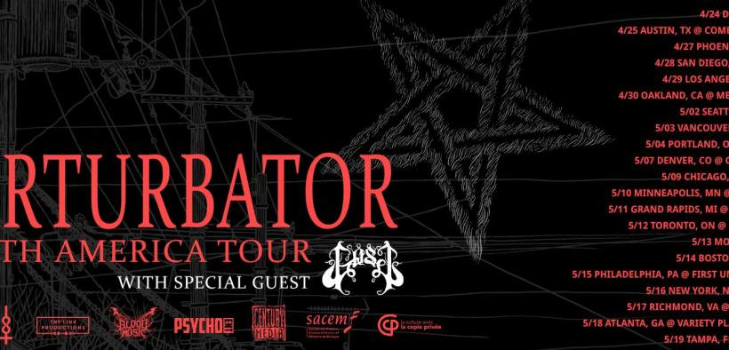 Perturbator and GosT Tour 2019 Show Review: What an