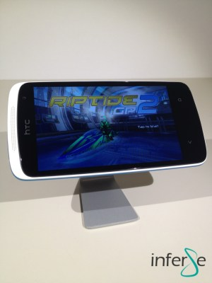 htc desire 500 display landscape