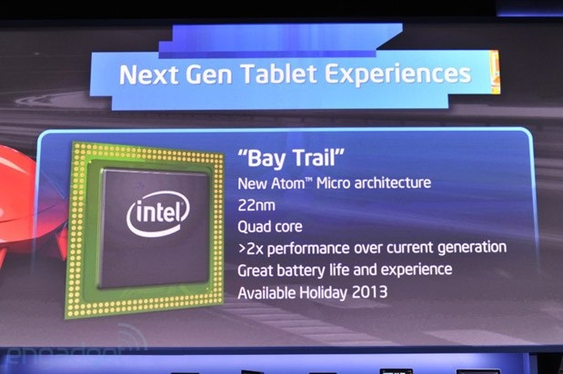 intel bay trail details