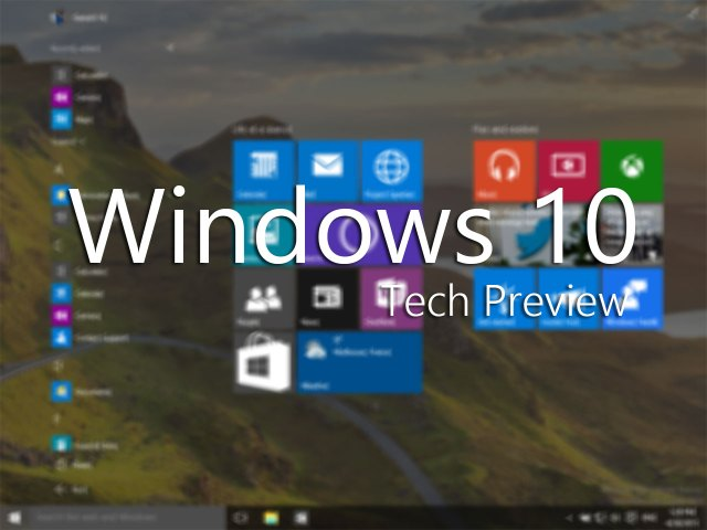windows 10 build 10102 brings new aero theme live tiles with 3d