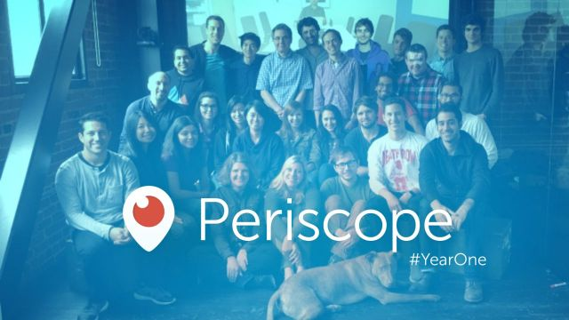Periscope #YearOne