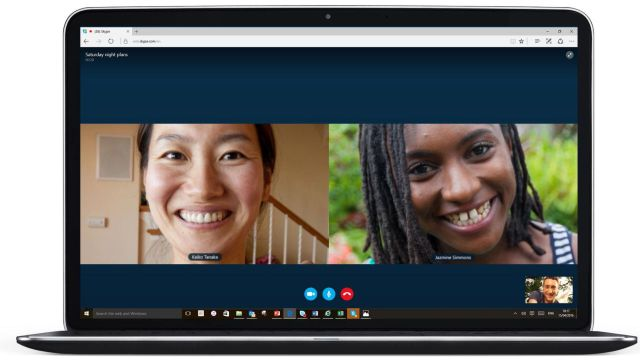 Skype Video Calling on Microsoft Edge