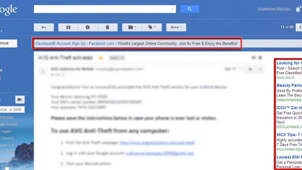 Google won't scan personal Gmail account for ad proliferation but