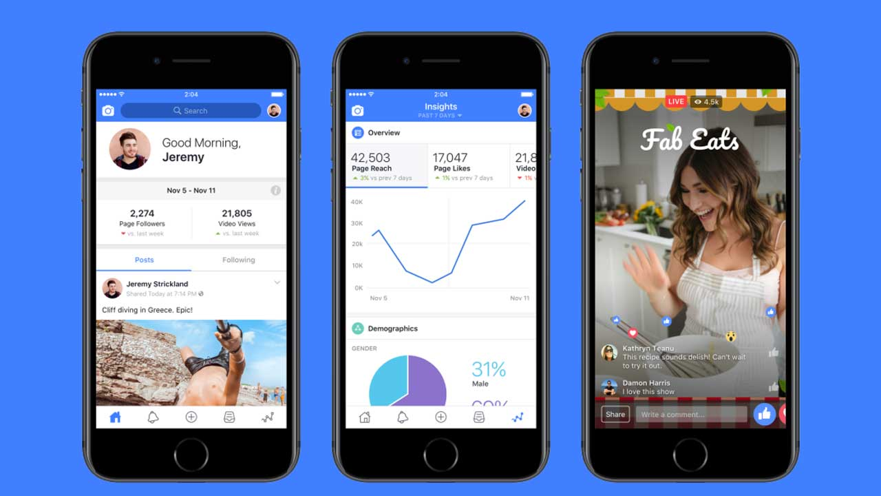 Facebook brings the fight to YouTube once again with new Creator app