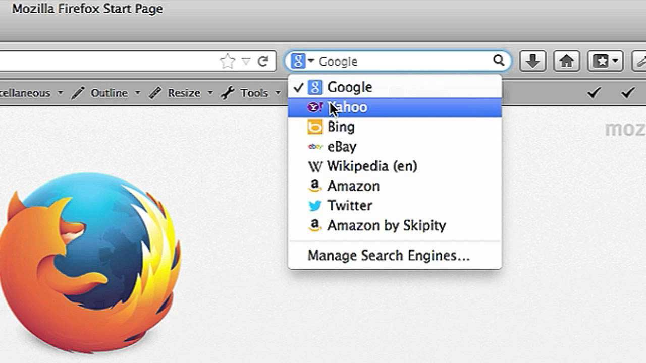 Firefox opts for Google as default search in USA , surprising Yahoo
