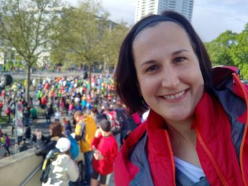 Isabellas erster Marathon