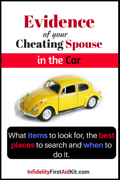 Evidence of Your Cheating Spouse: In The Car
