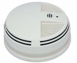 spy gadgets hidden camera smoke detector and DVR