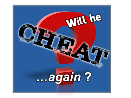 Will your spouse cheat again?