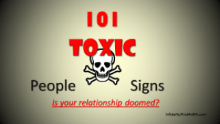 101 Toxic People Signs