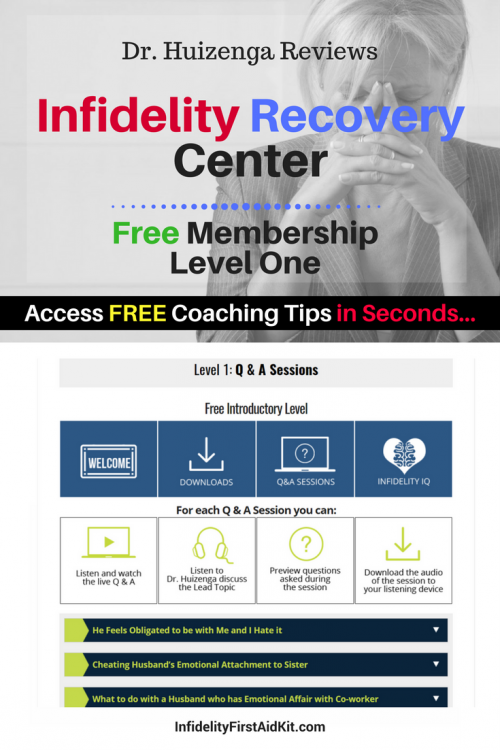 [Free] Dr. Huizenga Coaching: [Review] of Infidelity Recovery Center Level 1