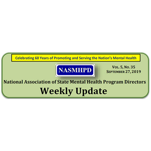 National Association of State Mental Health Program Directors Newsletter