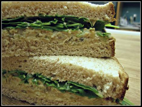chickpea of the sea sandwich - www.infinebalance.com
