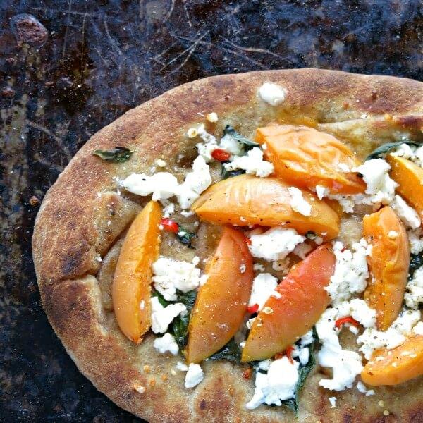 apricot flat bread