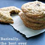 Chocolate Chip Hazelnut Cookies | www.infinebalance.com #recipe #bestever