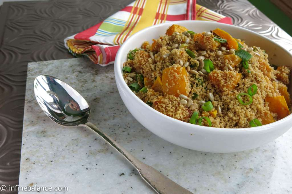 whole wheat couscous with pumpkin