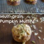 Mutli-Grain Pumpkin Muffins | www.infinebalance.com