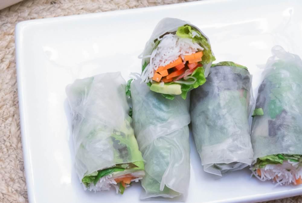 Fresh Salad Wraps