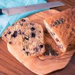 Blueberry Citrus Loaf {vegan} | www.infinebalance.com