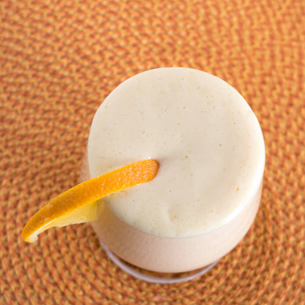 Creamy Mango Smoothie | infinebalance #smoothie #recipe