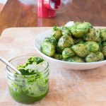 Potatoes in Classic Green Chutney | www.infinebalance.com #recipe #vegan