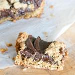 Gluten-Free Oat Fudge Bars | The infinebalance food blog #gf