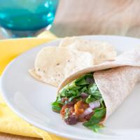 Crockpot Vegetarian Tacos - with Black Beans and Sweet Potatoes