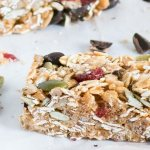 Cranberry and Dark Chocolate Snack Bars | www.infinebalance.com #vegan #kidfood