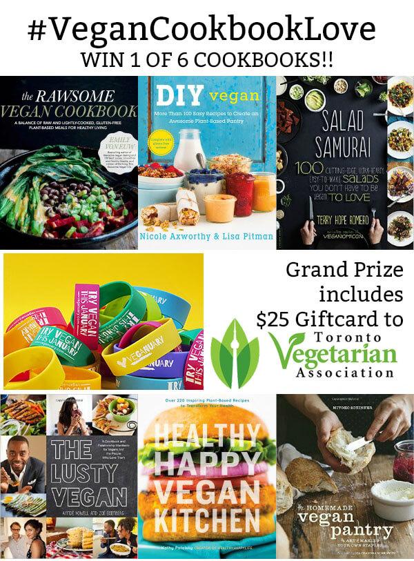 Vegan Cookbook Love Giveaway