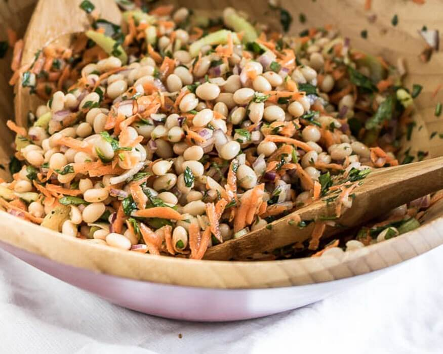 Lemon and Herb Summer Bean Salad