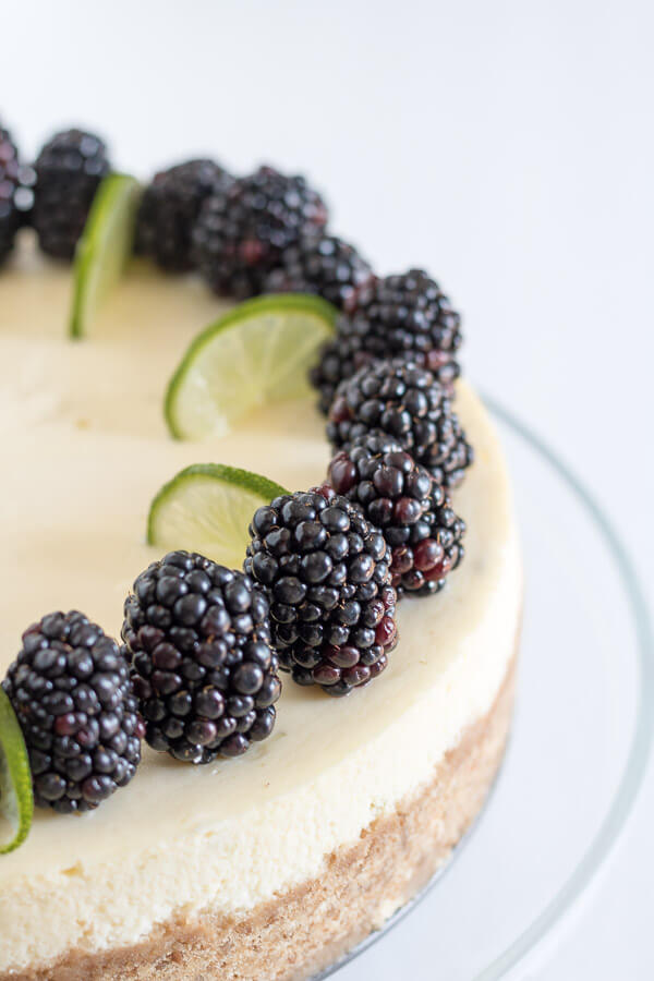 Key Lime Pie Cheesecake | www.infinebalance.com #recipe