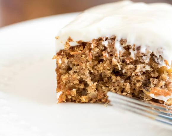 classic carrot cake with cream cheese frosting