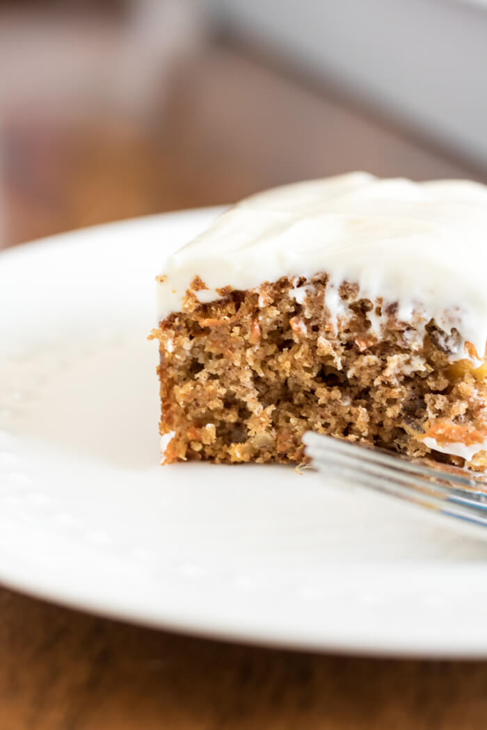 The Best Ever Carrot Cake | www.infinebalance.com #recipe