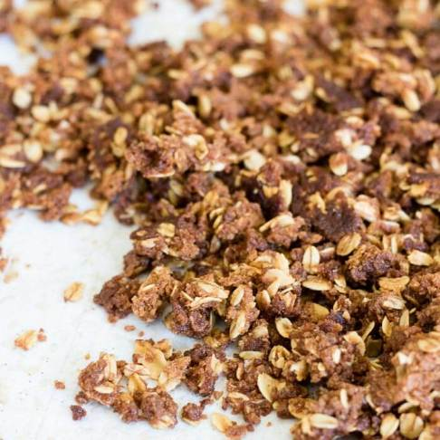 brown sugar streusel topping