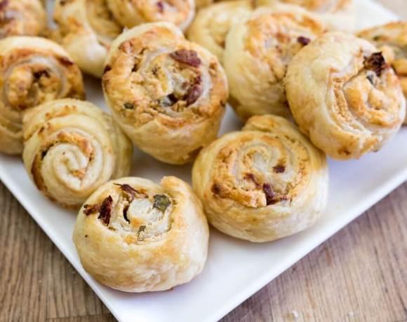 Sundried Tomato Pastry Rolls | the infinebalance food blog