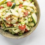 Sweet Corn and Zucchini Salad