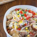 summer texmex potato salad