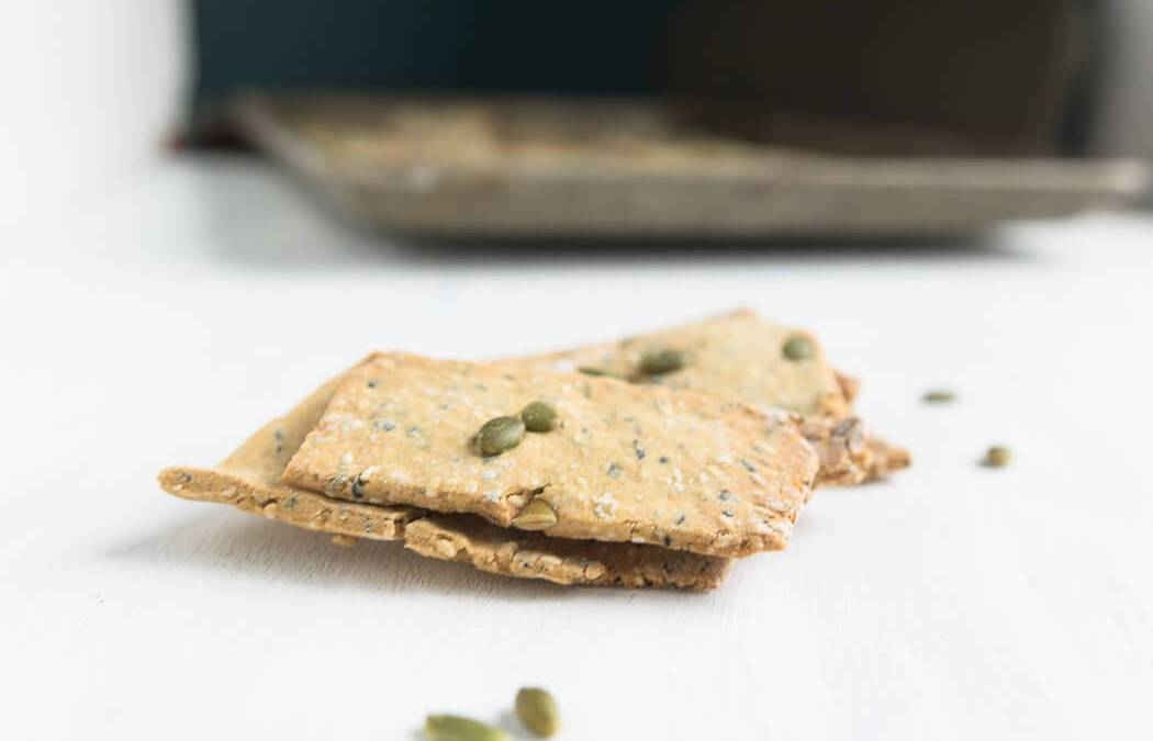No Oil Seed Crackers