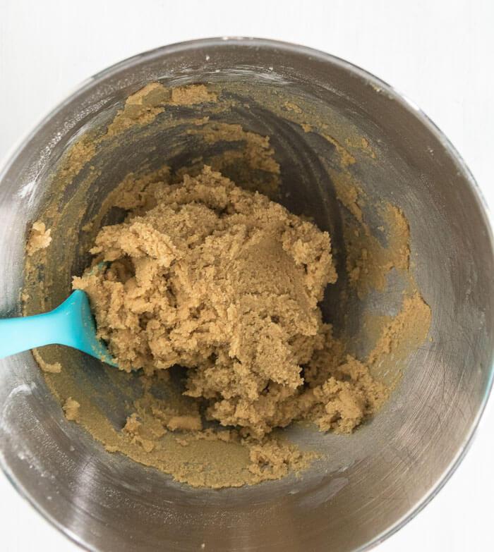 almond flour spiced brown sugar cookie dough