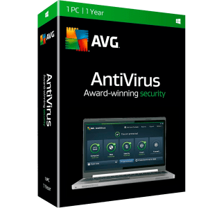 AVG Antivirus 2018 por 2 año 1 Pc 6076917