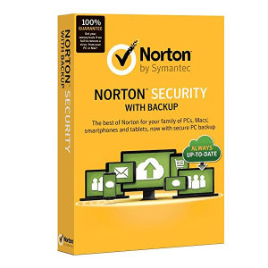 Antivirus Norton Security with Backup Para 1 Año Por 5 Pcs