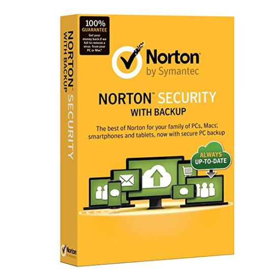 Antivirus Norton Security with Backup