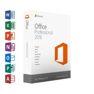 Microsoft Office Professional 2016 © MFR # 269-16814 Licencia RETAIL 1 Pc