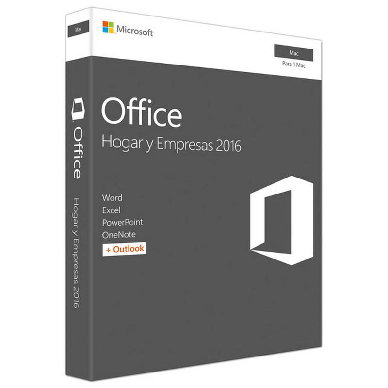 Microsoft Home and Business© 2016 MFR # W6F-00501 Licencia Para 1 MAC