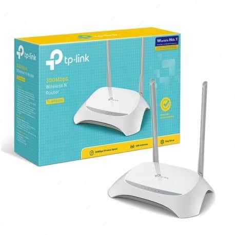 Router Inalambrico Tp-Link TL-WR840N 300Mbps 2 Antenas