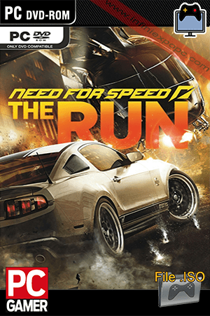 Need For Speed The Run PC Game Poster
