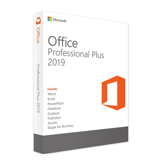 Microsoft Office 2019 Proffessional Plus Licencia Retail 1 PC