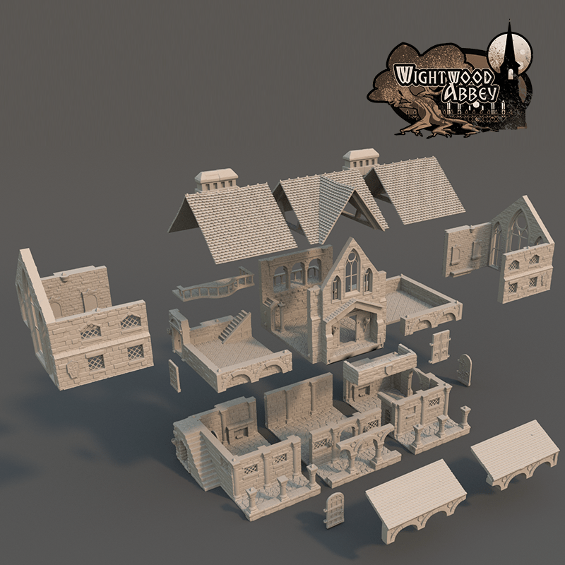Wightwood Abbey Scriptorium expanded