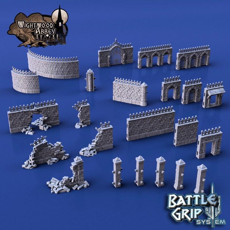 3D printable walls